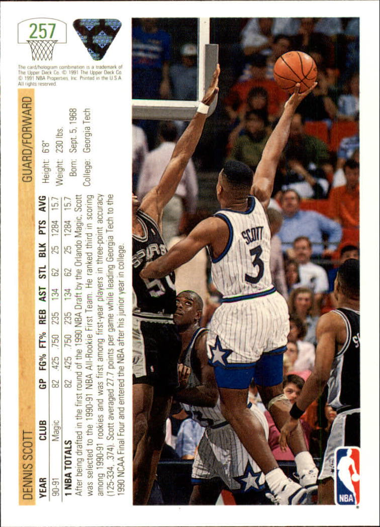 thumbnail 15 - 1991-92 Upper Deck Bk Cards 251-500 +Rookies A2500 - You Pick - 10+ FREE SHIP