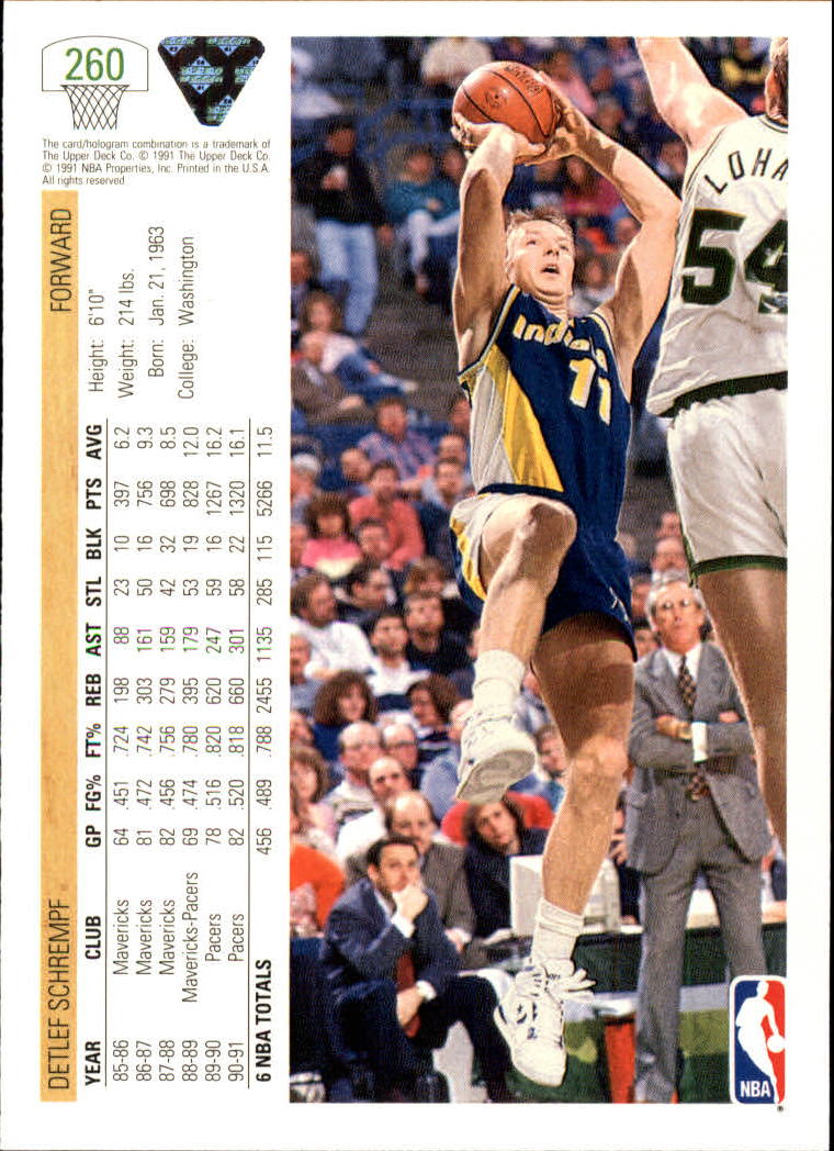 thumbnail 21 - 1991-92 Upper Deck Bk Cards 251-500 +Rookies A2500 - You Pick - 10+ FREE SHIP