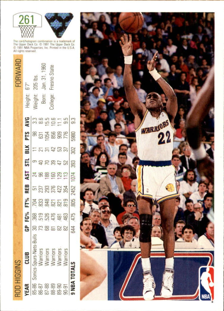 thumbnail 23 - 1991-92 Upper Deck Bk Cards 251-500 +Rookies A2500 - You Pick - 10+ FREE SHIP