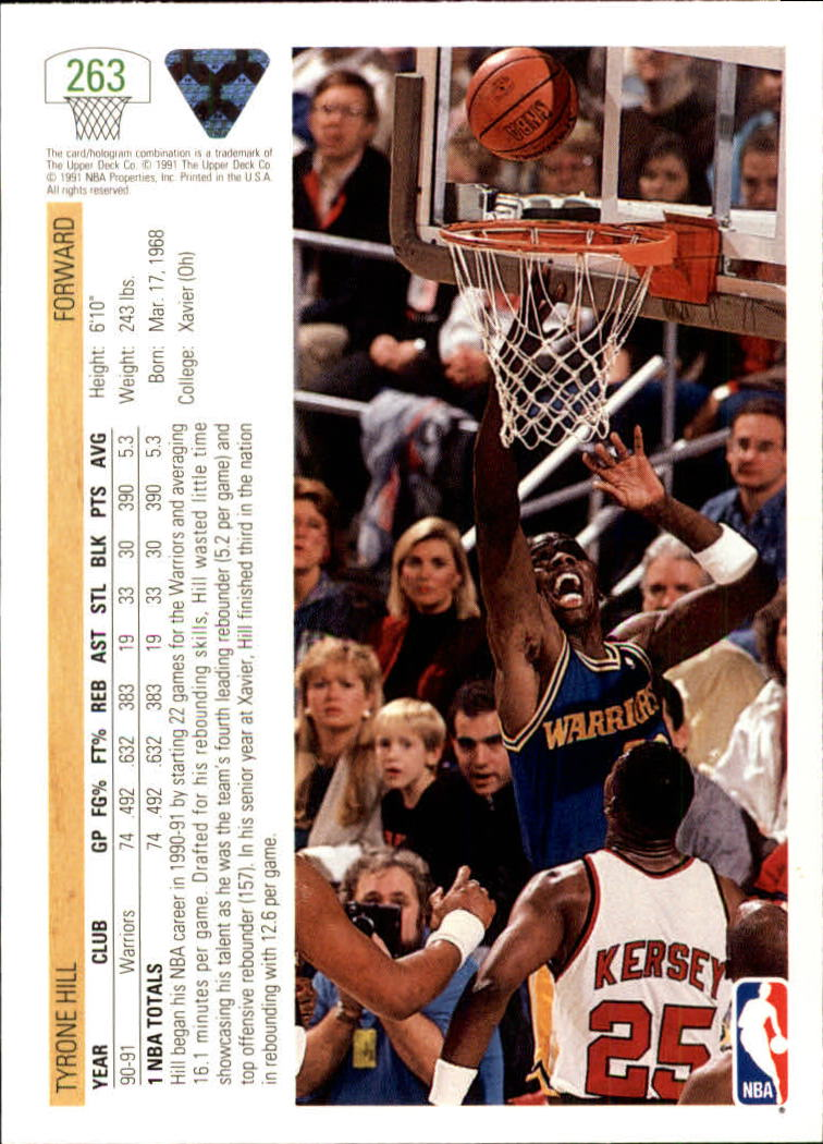 thumbnail 27 - 1991-92 Upper Deck Bk Cards 251-500 +Rookies A2500 - You Pick - 10+ FREE SHIP