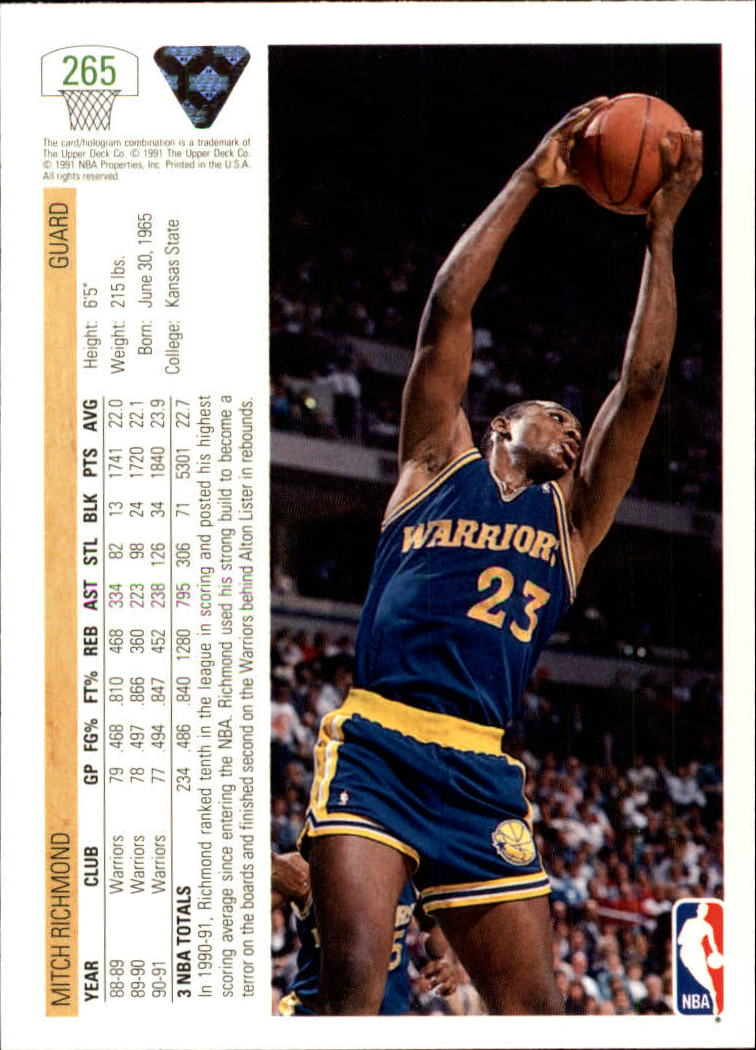 thumbnail 31 - 1991-92 Upper Deck Bk Cards 251-500 +Rookies A2500 - You Pick - 10+ FREE SHIP