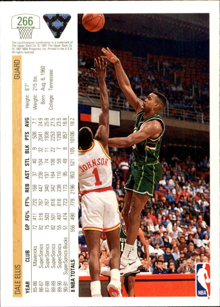 thumbnail 33 - 1991-92 Upper Deck Bk Cards 251-500 +Rookies A2500 - You Pick - 10+ FREE SHIP