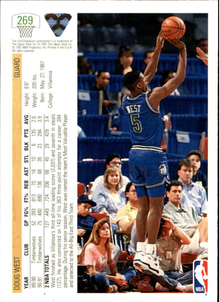 thumbnail 39 - 1991-92 Upper Deck Bk Cards 251-500 +Rookies A2500 - You Pick - 10+ FREE SHIP