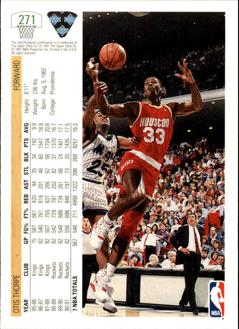 thumbnail 43 - 1991-92 Upper Deck Bk Cards 251-500 +Rookies A2500 - You Pick - 10+ FREE SHIP