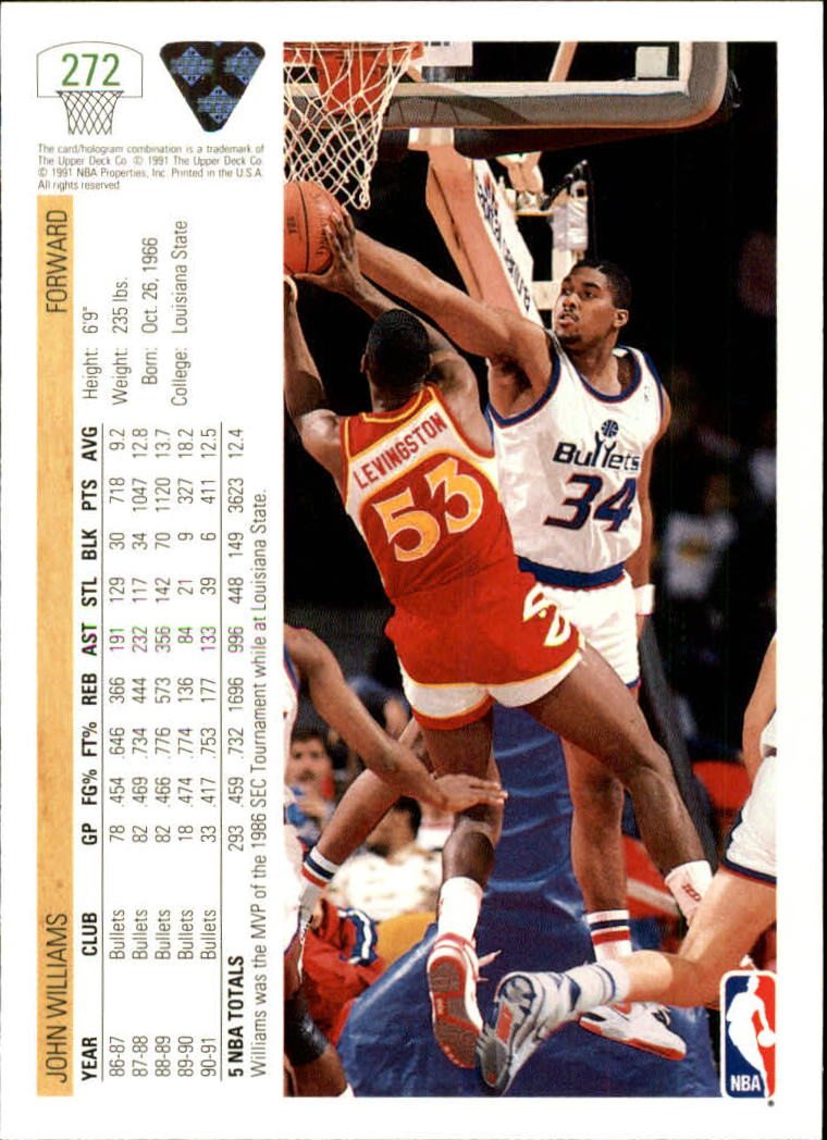 thumbnail 45 - 1991-92 Upper Deck Bk Cards 251-500 +Rookies A2500 - You Pick - 10+ FREE SHIP