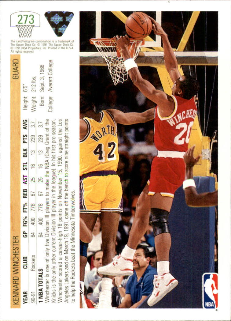 thumbnail 47 - 1991-92 Upper Deck Bk Cards 251-500 +Rookies A2500 - You Pick - 10+ FREE SHIP