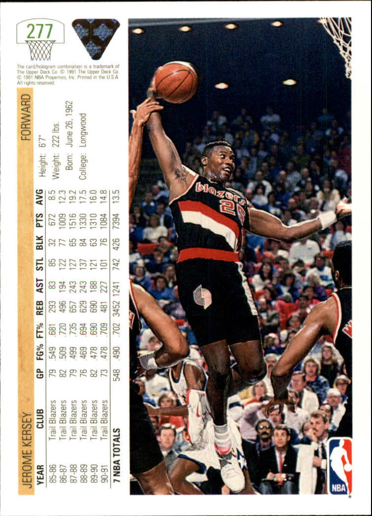 thumbnail 55 - 1991-92 Upper Deck Bk Cards 251-500 +Rookies A2500 - You Pick - 10+ FREE SHIP