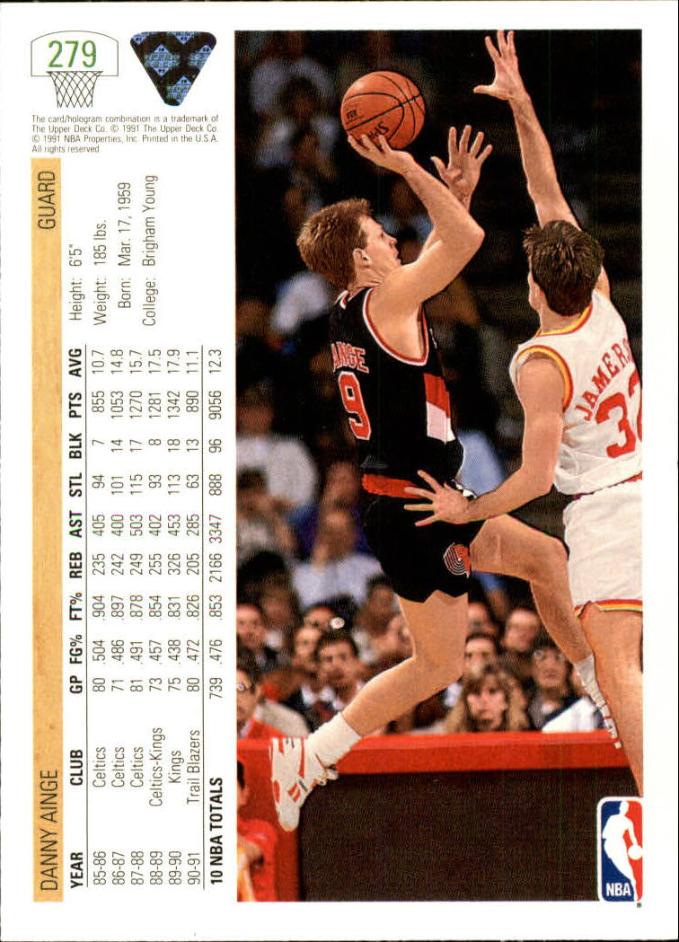 thumbnail 59 - 1991-92 Upper Deck Bk Cards 251-500 +Rookies A2500 - You Pick - 10+ FREE SHIP