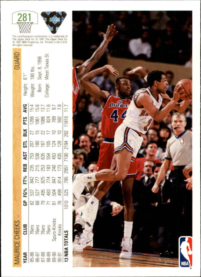 thumbnail 63 - 1991-92 Upper Deck Bk Cards 251-500 +Rookies A2500 - You Pick - 10+ FREE SHIP
