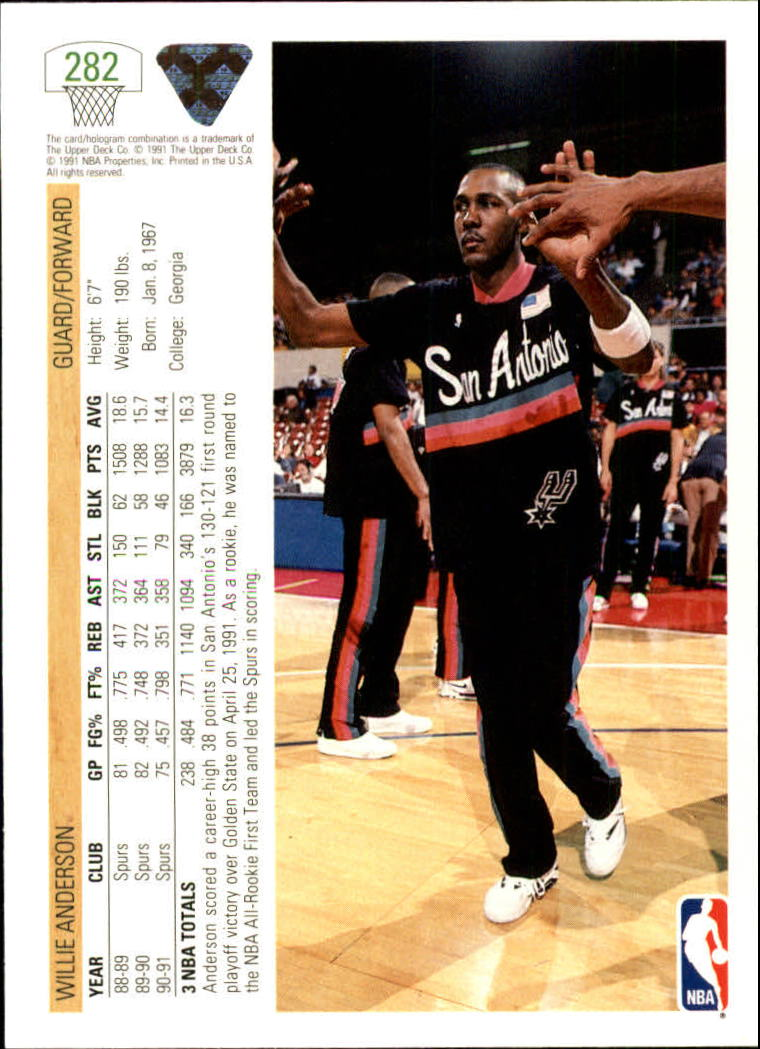 thumbnail 65 - 1991-92 Upper Deck Bk Cards 251-500 +Rookies A2500 - You Pick - 10+ FREE SHIP