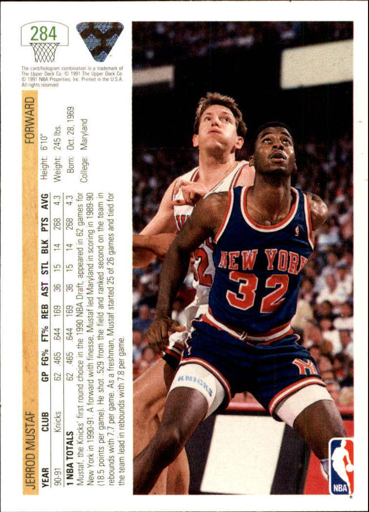 thumbnail 69 - 1991-92 Upper Deck Bk Cards 251-500 +Rookies A2500 - You Pick - 10+ FREE SHIP