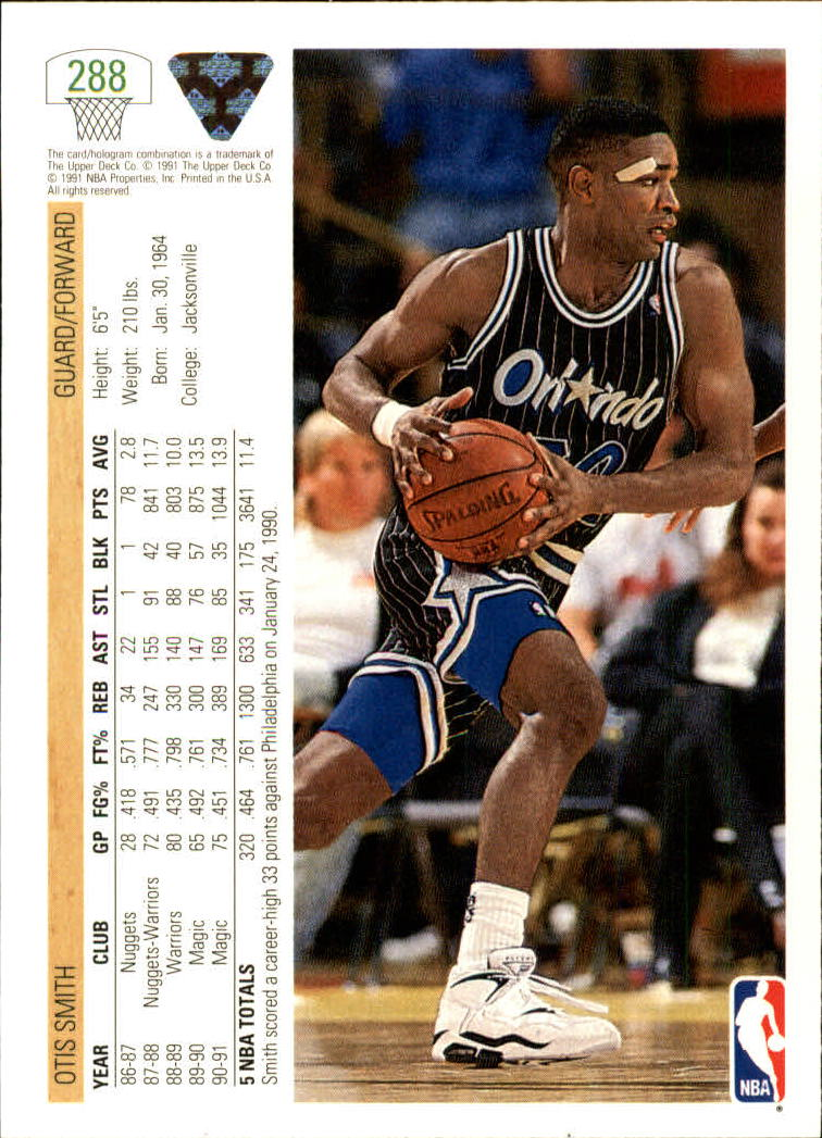 thumbnail 77 - 1991-92 Upper Deck Bk Cards 251-500 +Rookies A2500 - You Pick - 10+ FREE SHIP