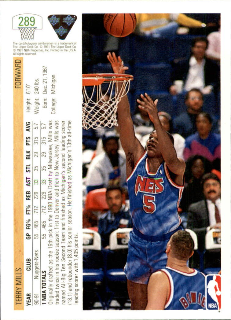 thumbnail 79 - 1991-92 Upper Deck Bk Cards 251-500 +Rookies A2500 - You Pick - 10+ FREE SHIP