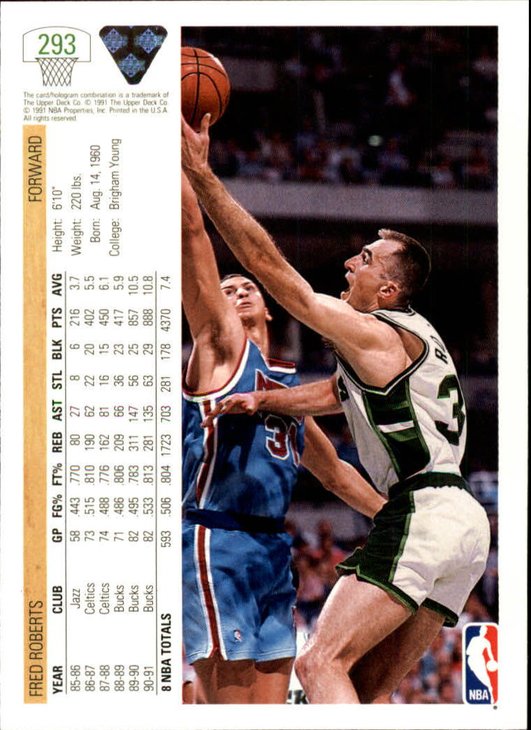thumbnail 87 - 1991-92 Upper Deck Bk Cards 251-500 +Rookies A2500 - You Pick - 10+ FREE SHIP