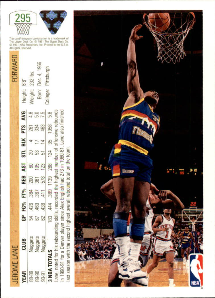 thumbnail 91 - 1991-92 Upper Deck Bk Cards 251-500 +Rookies A2500 - You Pick - 10+ FREE SHIP