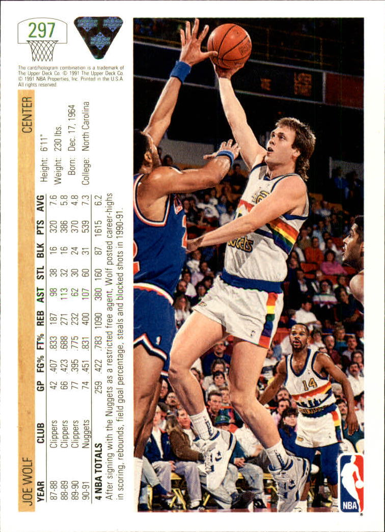 thumbnail 95 - 1991-92 Upper Deck Bk Cards 251-500 +Rookies A2500 - You Pick - 10+ FREE SHIP