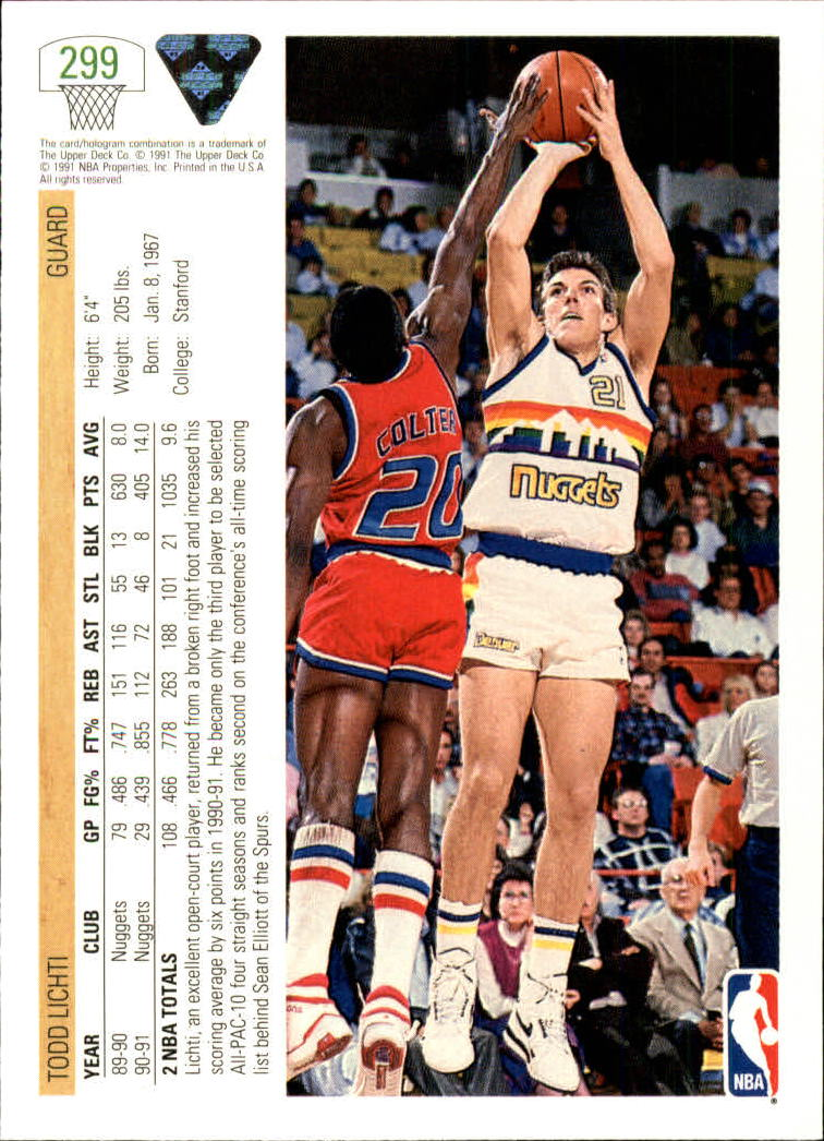 thumbnail 99 - 1991-92 Upper Deck Bk Cards 251-500 +Rookies A2500 - You Pick - 10+ FREE SHIP