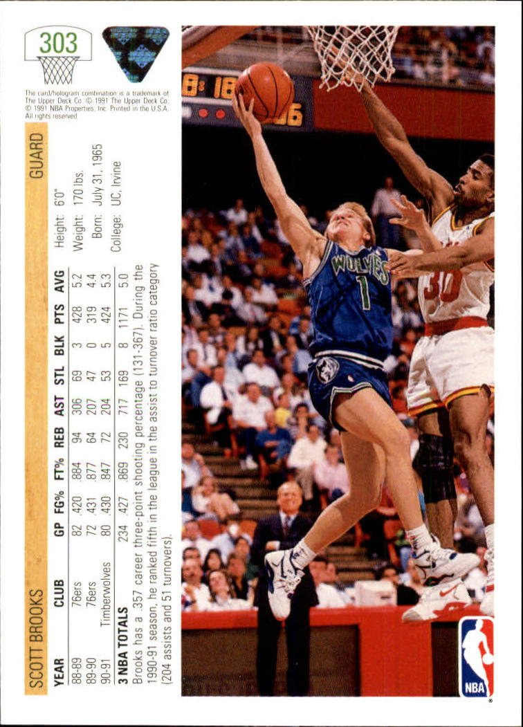 thumbnail 107 - 1991-92 Upper Deck Bk Cards 251-500 +Rookies A2500 - You Pick - 10+ FREE SHIP