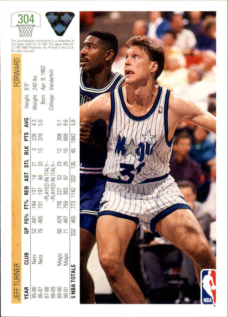 thumbnail 109 - 1991-92 Upper Deck Bk Cards 251-500 +Rookies A2500 - You Pick - 10+ FREE SHIP