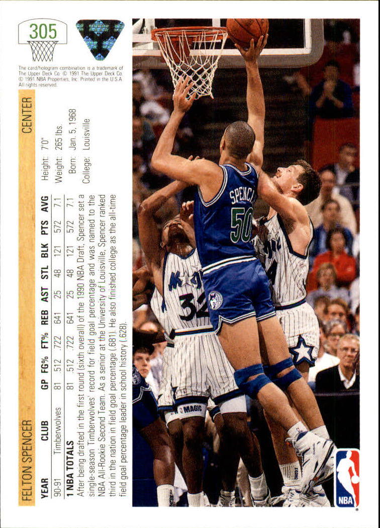 thumbnail 111 - 1991-92 Upper Deck Bk Cards 251-500 +Rookies A2500 - You Pick - 10+ FREE SHIP