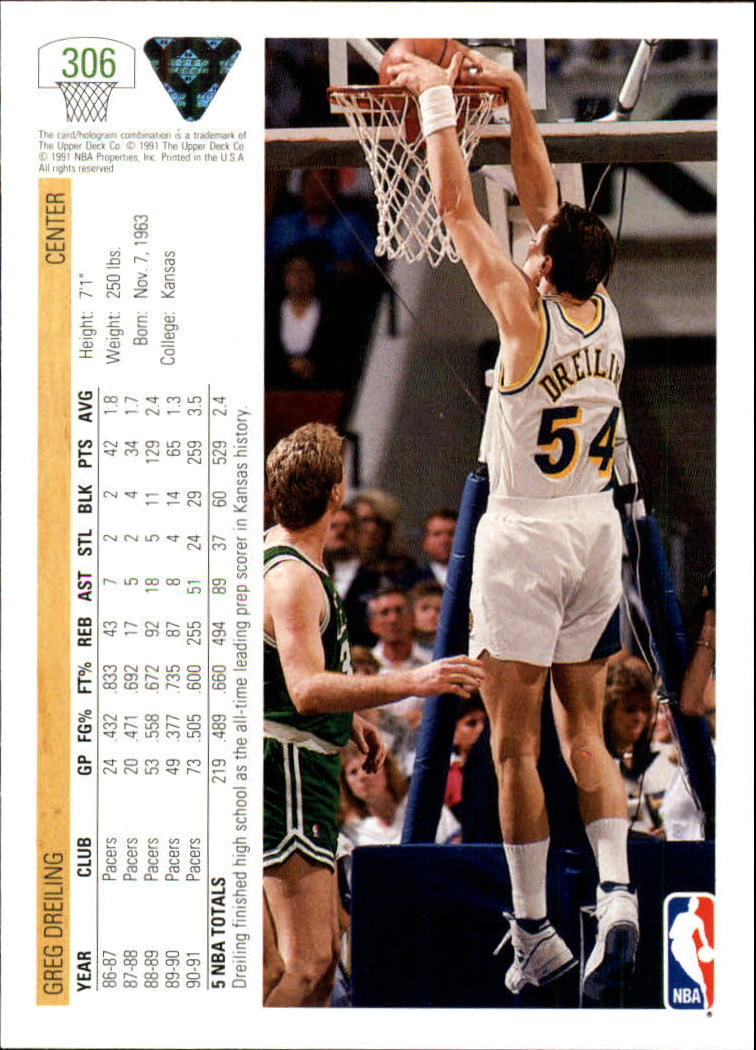 thumbnail 113 - 1991-92 Upper Deck Bk Cards 251-500 +Rookies A2500 - You Pick - 10+ FREE SHIP