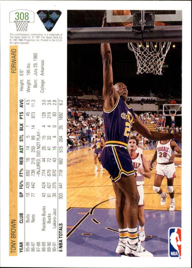 thumbnail 117 - 1991-92 Upper Deck Bk Cards 251-500 +Rookies A2500 - You Pick - 10+ FREE SHIP