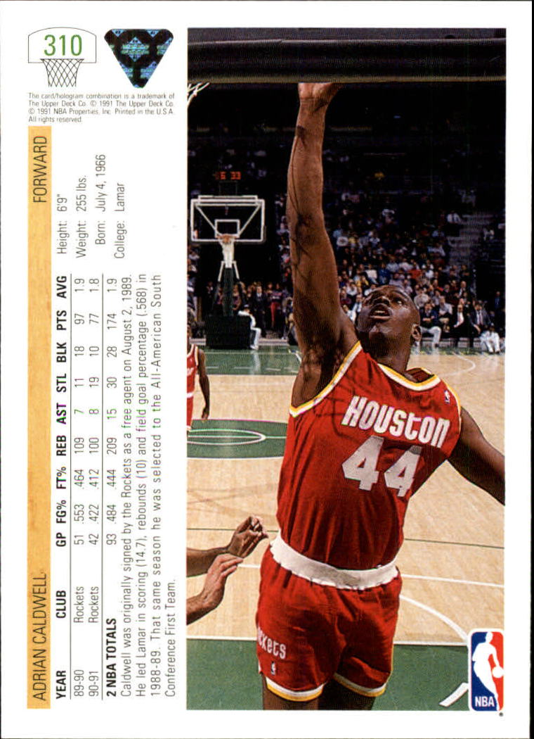 thumbnail 121 - 1991-92 Upper Deck Bk Cards 251-500 +Rookies A2500 - You Pick - 10+ FREE SHIP