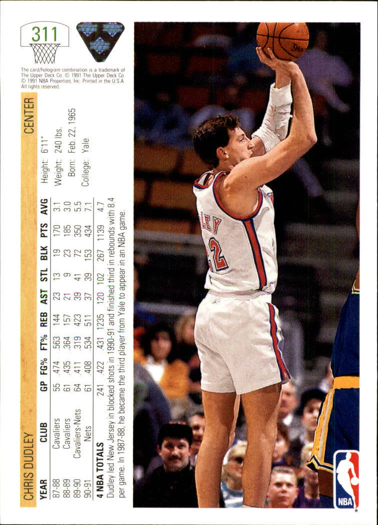 thumbnail 123 - 1991-92 Upper Deck Bk Cards 251-500 +Rookies A2500 - You Pick - 10+ FREE SHIP