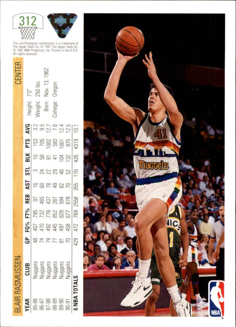 thumbnail 125 - 1991-92 Upper Deck Bk Cards 251-500 +Rookies A2500 - You Pick - 10+ FREE SHIP