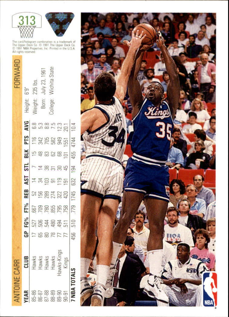 thumbnail 127 - 1991-92 Upper Deck Bk Cards 251-500 +Rookies A2500 - You Pick - 10+ FREE SHIP