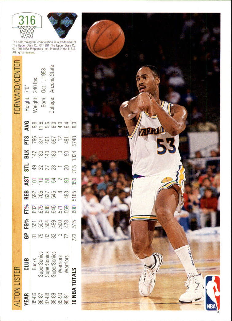 thumbnail 133 - 1991-92 Upper Deck Bk Cards 251-500 +Rookies A2500 - You Pick - 10+ FREE SHIP