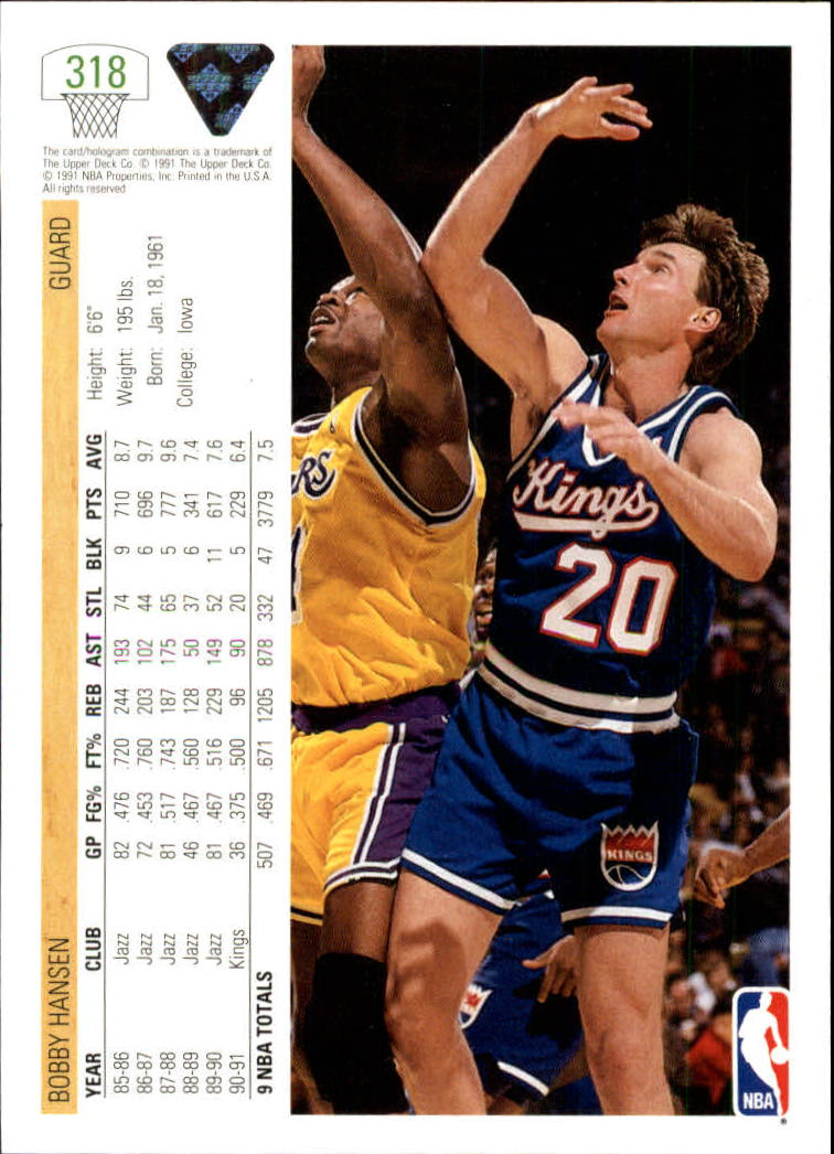 thumbnail 137 - 1991-92 Upper Deck Bk Cards 251-500 +Rookies A2500 - You Pick - 10+ FREE SHIP