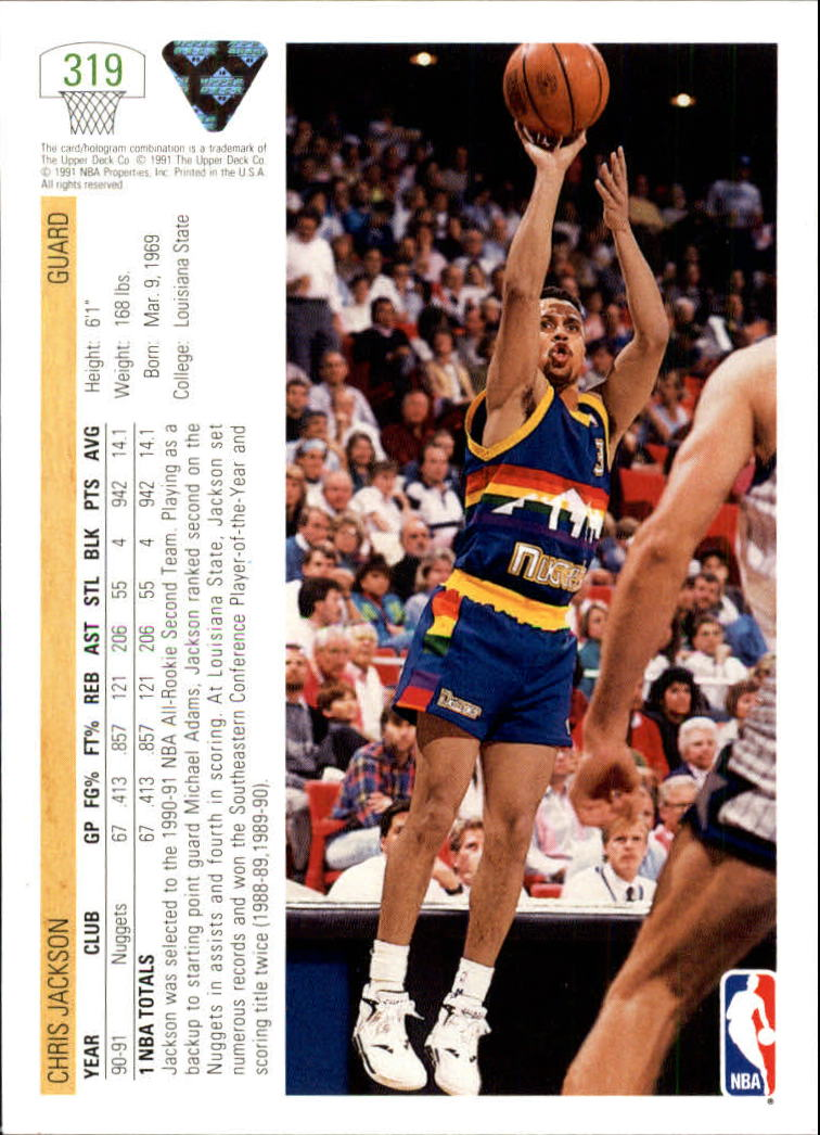 thumbnail 139 - 1991-92 Upper Deck Bk Cards 251-500 +Rookies A2500 - You Pick - 10+ FREE SHIP
