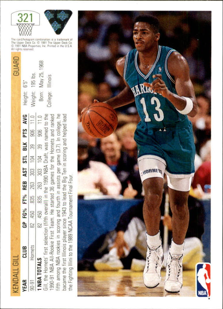 thumbnail 143 - 1991-92 Upper Deck Bk Cards 251-500 +Rookies A2500 - You Pick - 10+ FREE SHIP