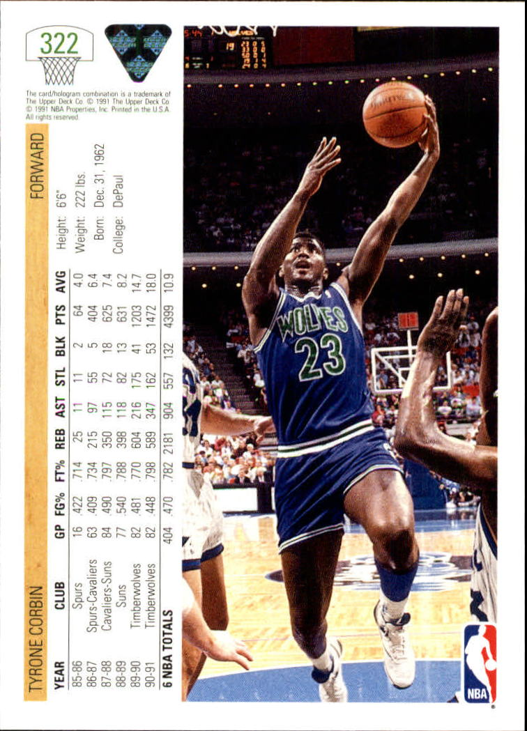 thumbnail 145 - 1991-92 Upper Deck Bk Cards 251-500 +Rookies A2500 - You Pick - 10+ FREE SHIP