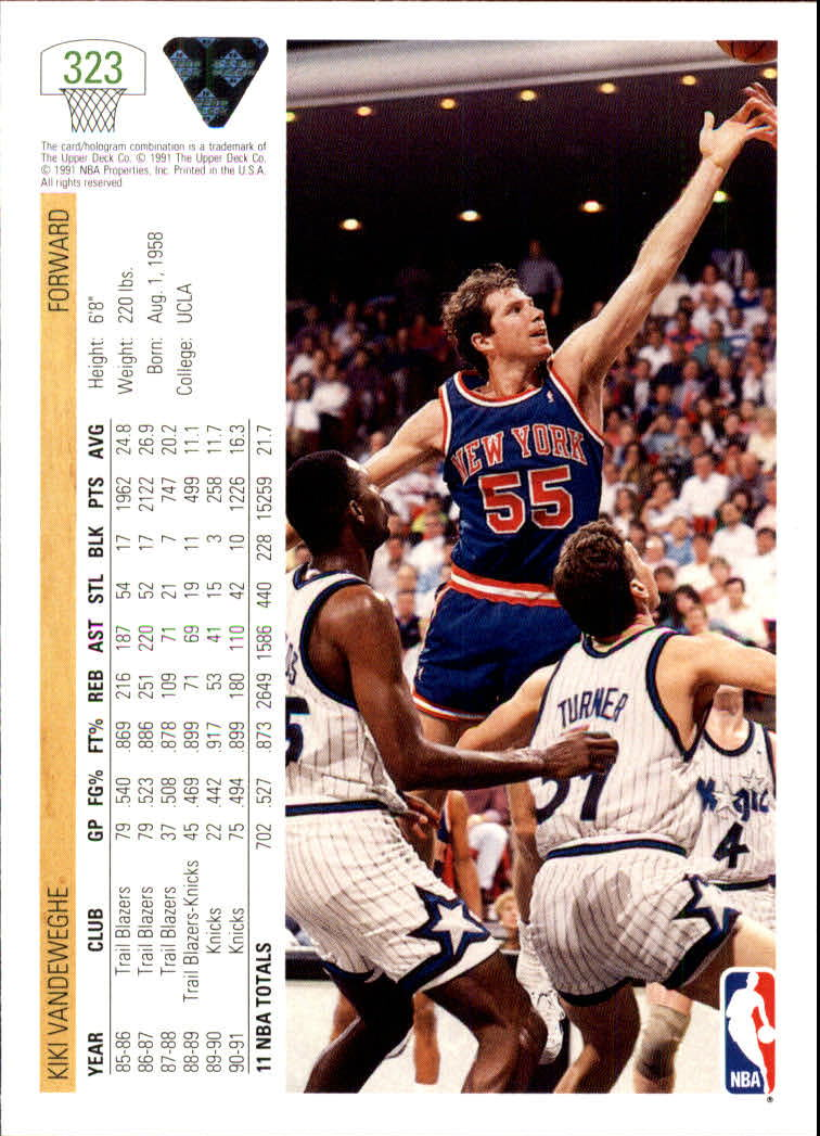 thumbnail 147 - 1991-92 Upper Deck Bk Cards 251-500 +Rookies A2500 - You Pick - 10+ FREE SHIP