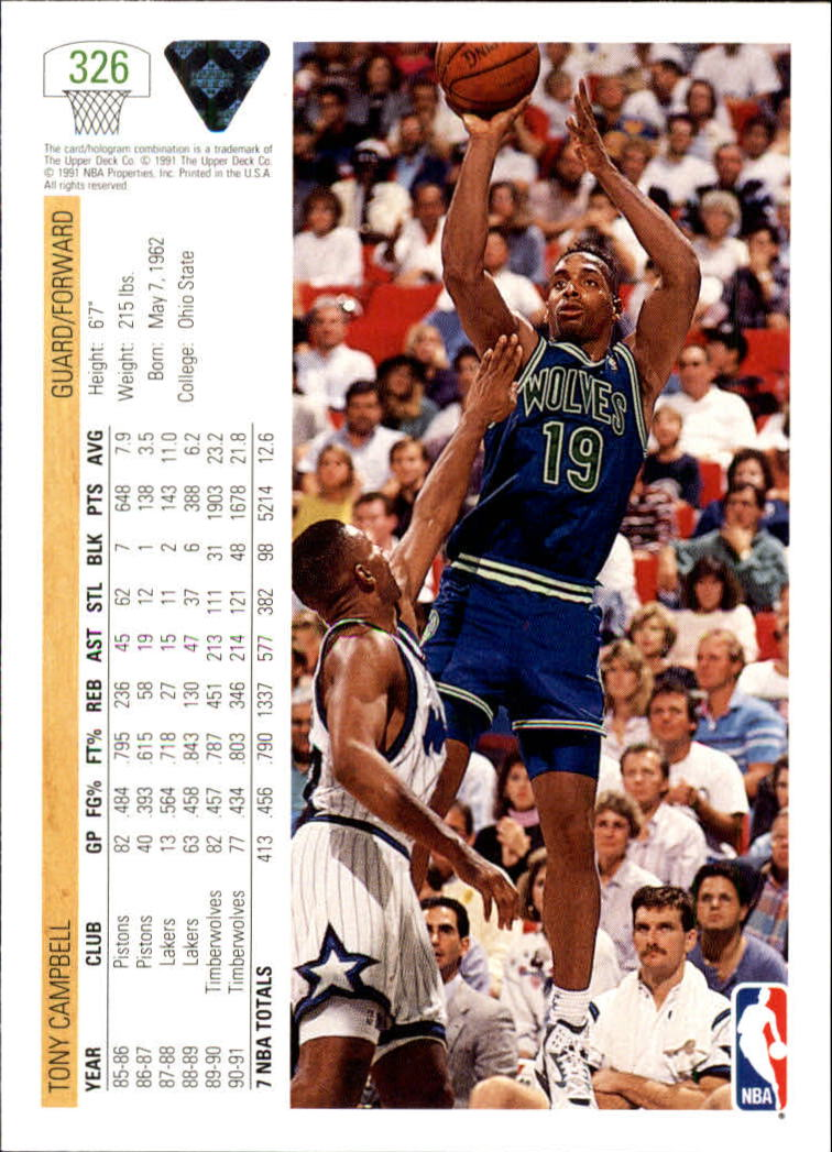 thumbnail 153 - 1991-92 Upper Deck Bk Cards 251-500 +Rookies A2500 - You Pick - 10+ FREE SHIP