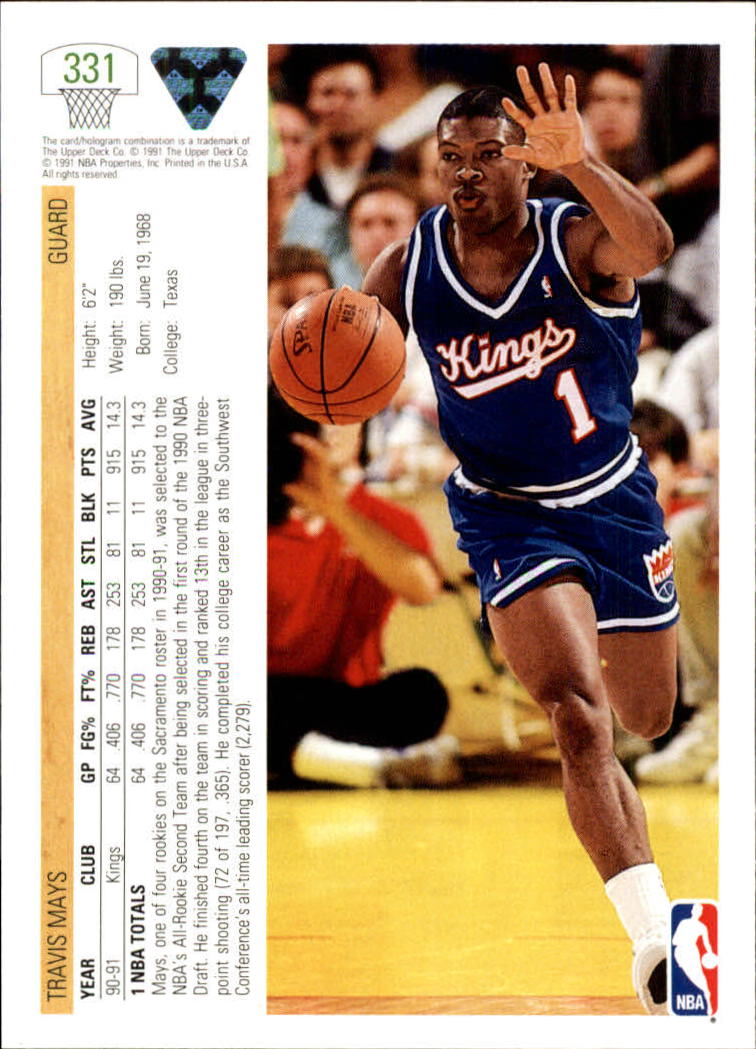 thumbnail 163 - 1991-92 Upper Deck Bk Cards 251-500 +Rookies A2500 - You Pick - 10+ FREE SHIP
