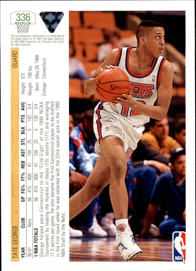 thumbnail 173 - 1991-92 Upper Deck Bk Cards 251-500 +Rookies A2500 - You Pick - 10+ FREE SHIP