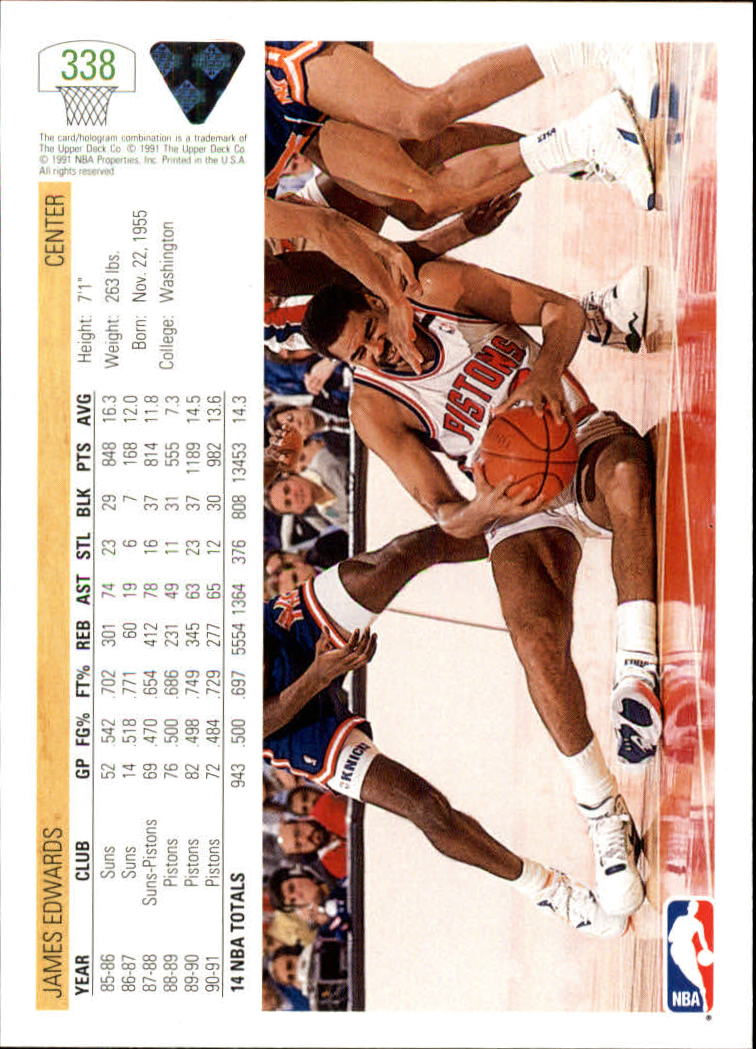 thumbnail 177 - 1991-92 Upper Deck Bk Cards 251-500 +Rookies A2500 - You Pick - 10+ FREE SHIP