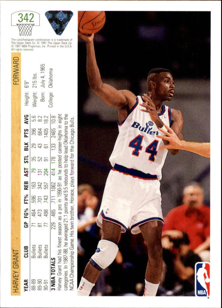 thumbnail 185 - 1991-92 Upper Deck Bk Cards 251-500 +Rookies A2500 - You Pick - 10+ FREE SHIP