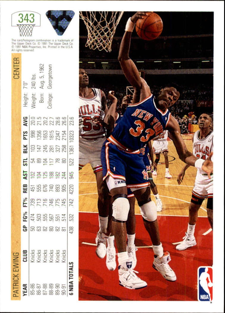 thumbnail 187 - 1991-92 Upper Deck Bk Cards 251-500 +Rookies A2500 - You Pick - 10+ FREE SHIP