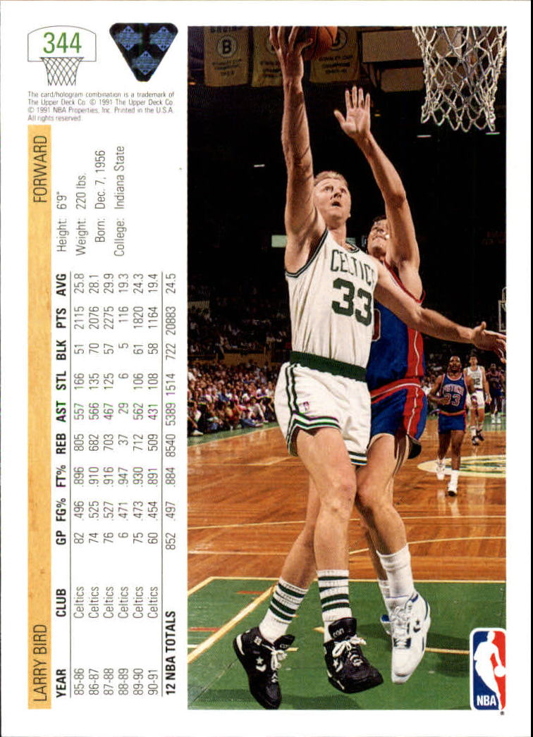 thumbnail 189 - 1991-92 Upper Deck Bk Cards 251-500 +Rookies A2500 - You Pick - 10+ FREE SHIP