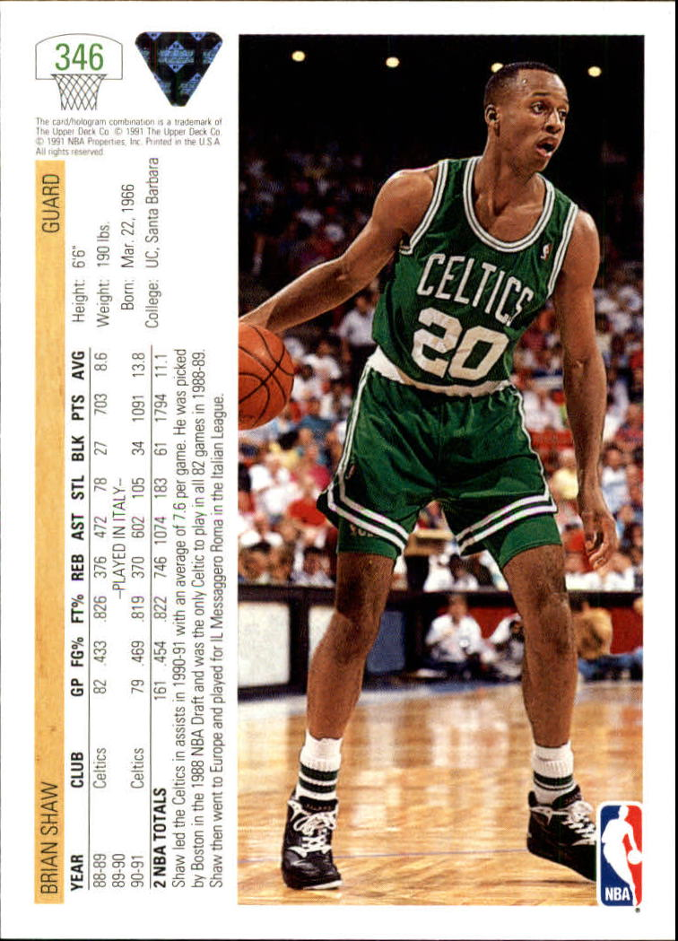 thumbnail 193 - 1991-92 Upper Deck Bk Cards 251-500 +Rookies A2500 - You Pick - 10+ FREE SHIP