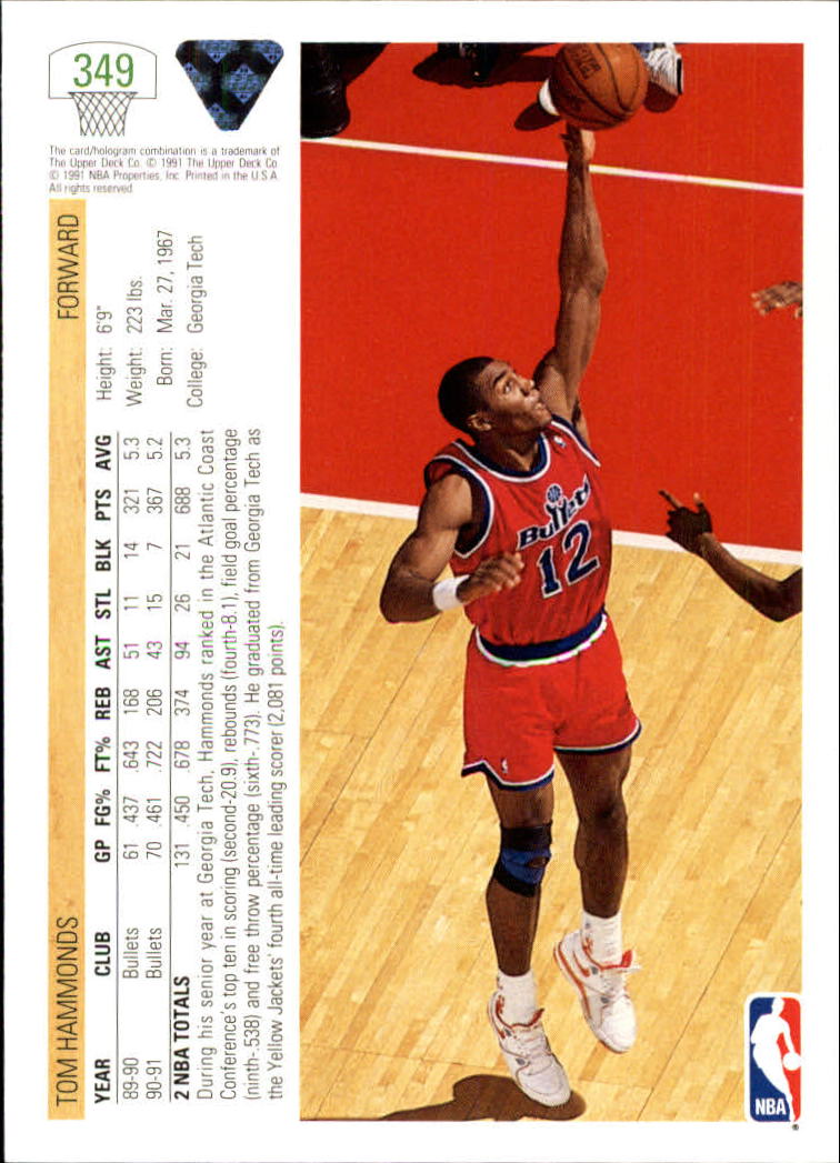 thumbnail 199 - 1991-92 Upper Deck Bk Cards 251-500 +Rookies A2500 - You Pick - 10+ FREE SHIP