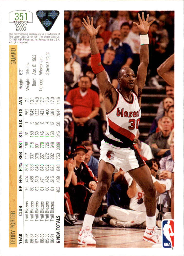 thumbnail 203 - 1991-92 Upper Deck Bk Cards 251-500 +Rookies A2500 - You Pick - 10+ FREE SHIP
