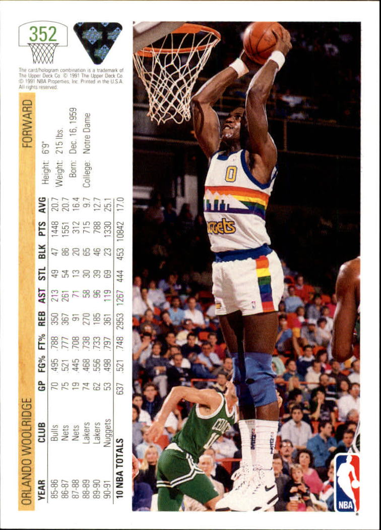 thumbnail 205 - 1991-92 Upper Deck Bk Cards 251-500 +Rookies A2500 - You Pick - 10+ FREE SHIP