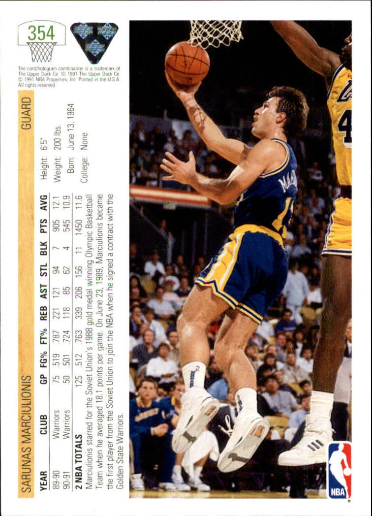 thumbnail 209 - 1991-92 Upper Deck Bk Cards 251-500 +Rookies A2500 - You Pick - 10+ FREE SHIP