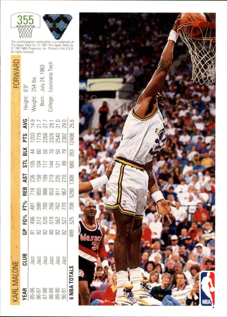 thumbnail 211 - 1991-92 Upper Deck Bk Cards 251-500 +Rookies A2500 - You Pick - 10+ FREE SHIP