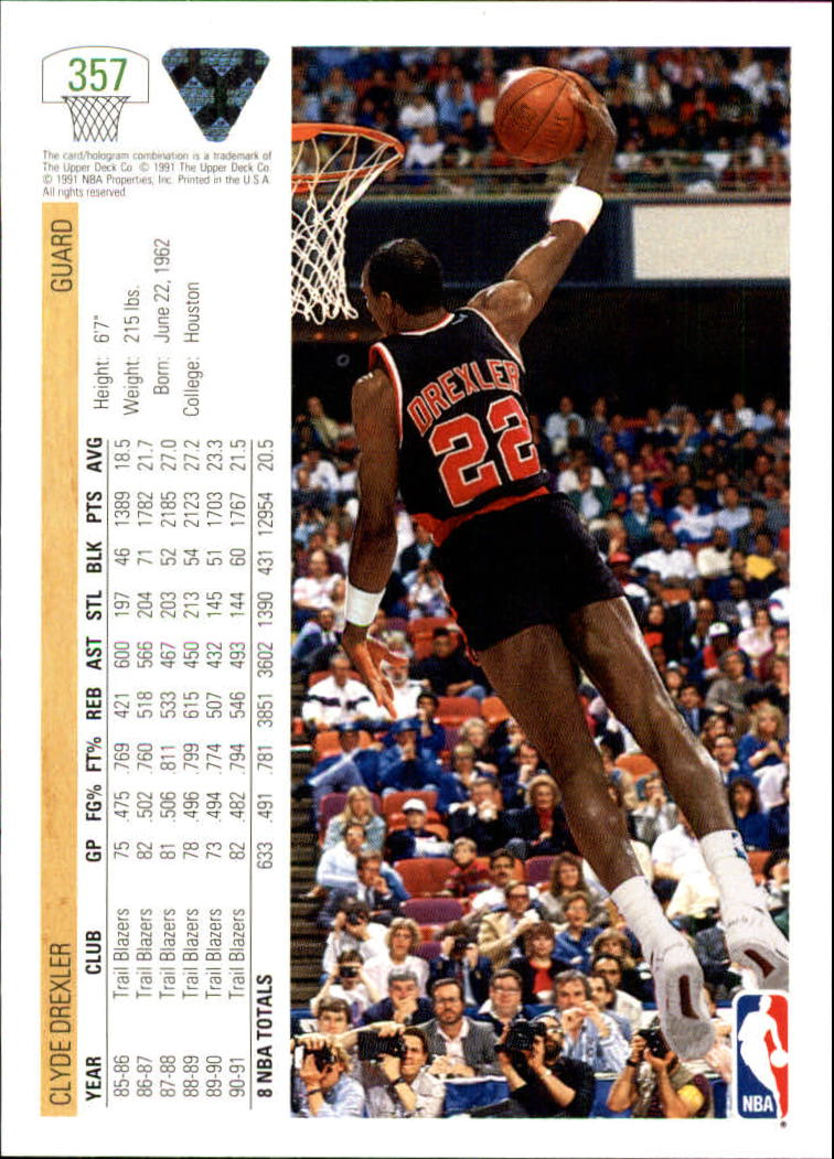 thumbnail 215 - 1991-92 Upper Deck Bk Cards 251-500 +Rookies A2500 - You Pick - 10+ FREE SHIP